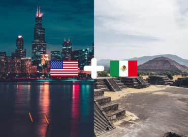 COMBO: Wietrzne miasto w USA plus piramidy i wulkany Meksyku – Komplet lotów z Gdańska tylko 1953 PLN!