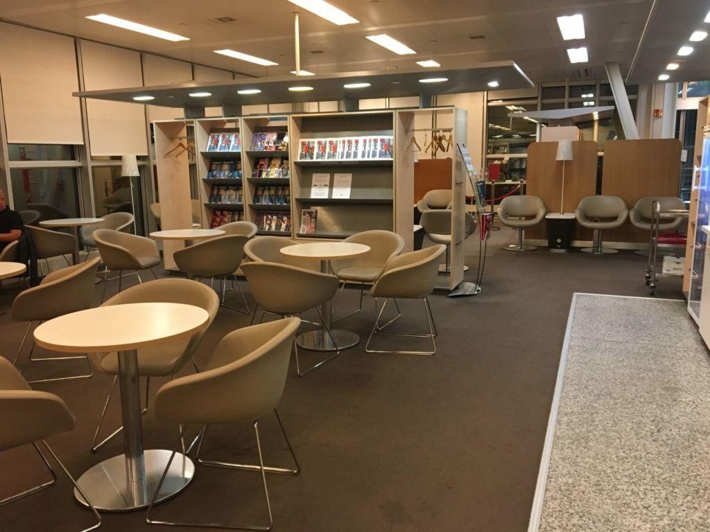 Genewa (GVA) - Air France KLM Lounge