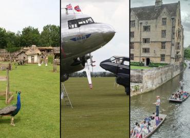 Uniwersytet Cambridge, 1000-letnia wioska oraz Muzeum Lotnictwa w Duxford – loty jednodniowe i wynajem auta od 108 PLN!